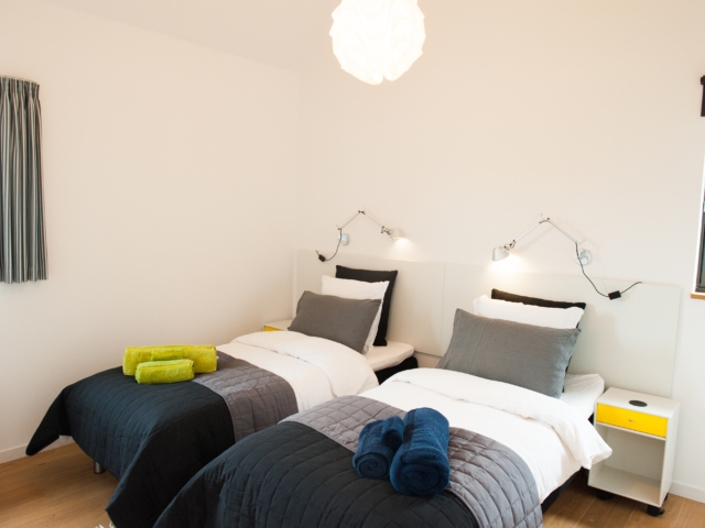 The Two Byres, self-catering on Isle of Skye, South bedroom