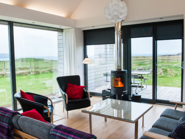 The Two Byres, self-catering on Isle of Skye, sitting room