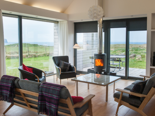 The Two Byres, self-catering on Isle of Skye, living areas